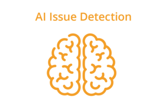 AI issue detection
